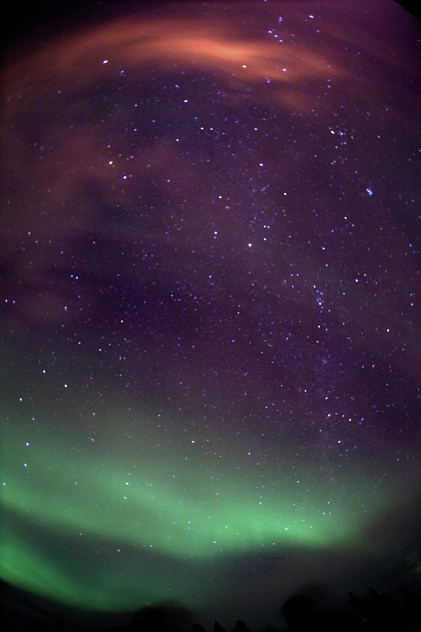 Aurora, Stars, Horizon Photograph by Dave Brosha Photography