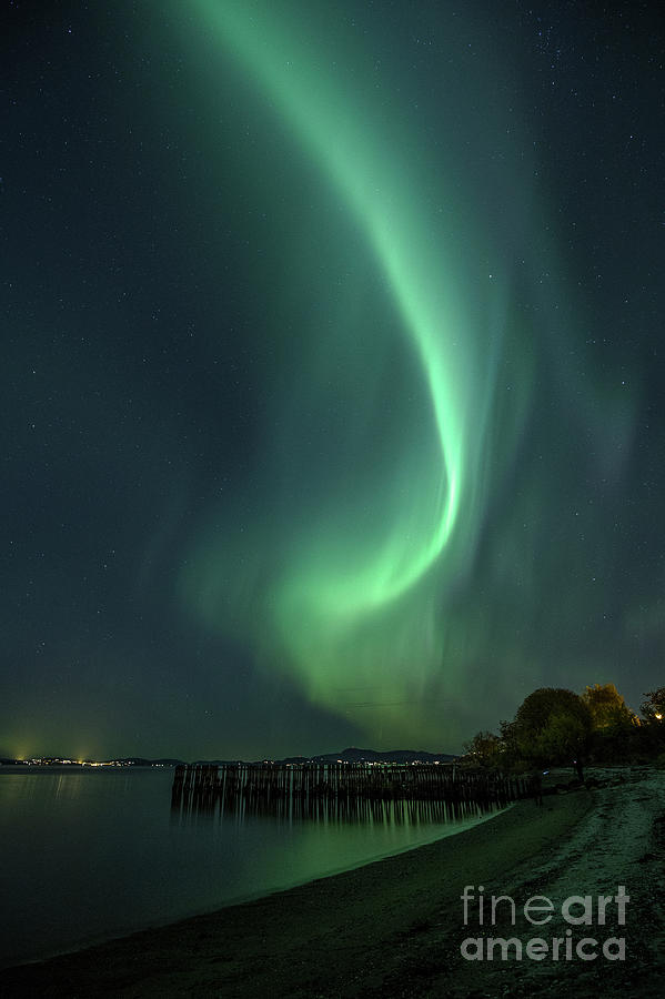 Aurora Photograph - Aurora by Tomasz Slawinski