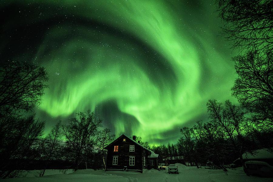 Aurora Storm by Pekka Sammallahti