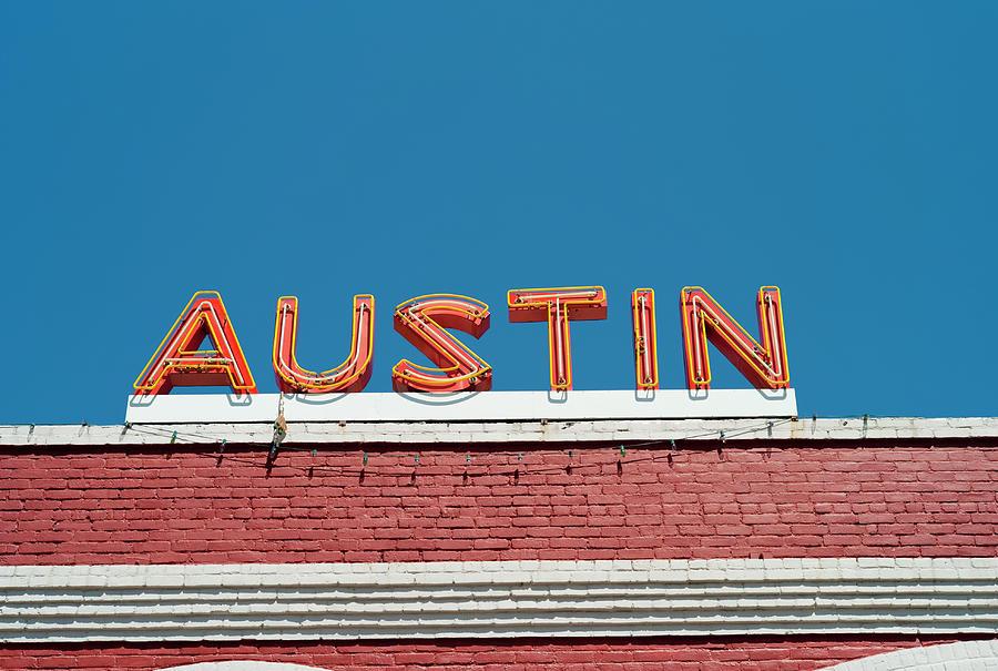 Austin Neon Sign Photograph by Austinartist