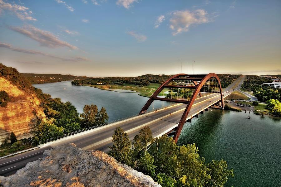 Austin, Texas 360 Bridge Photograph by Metschan
