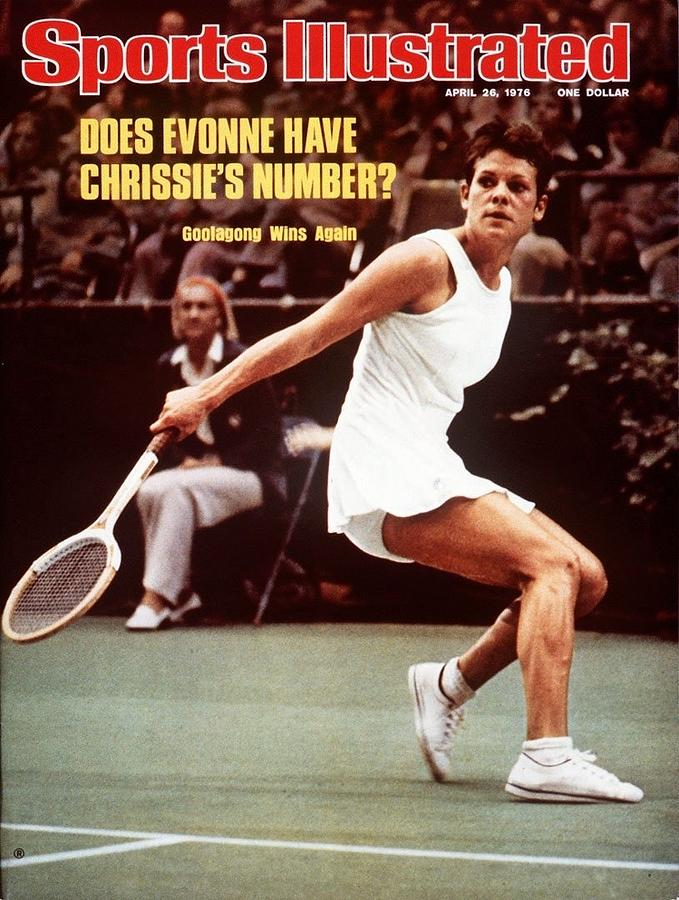 Australia Evonne Goolagong Cawley, 1976 Virginia Slims Sports Illustrated Cover Photograph by Sports Illustrated