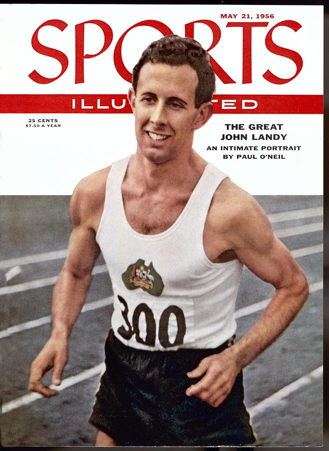 Australia John Landy, 1954 British Empire And Commonwealth Sports Illustrated Cover Photograph by Sports Illustrated