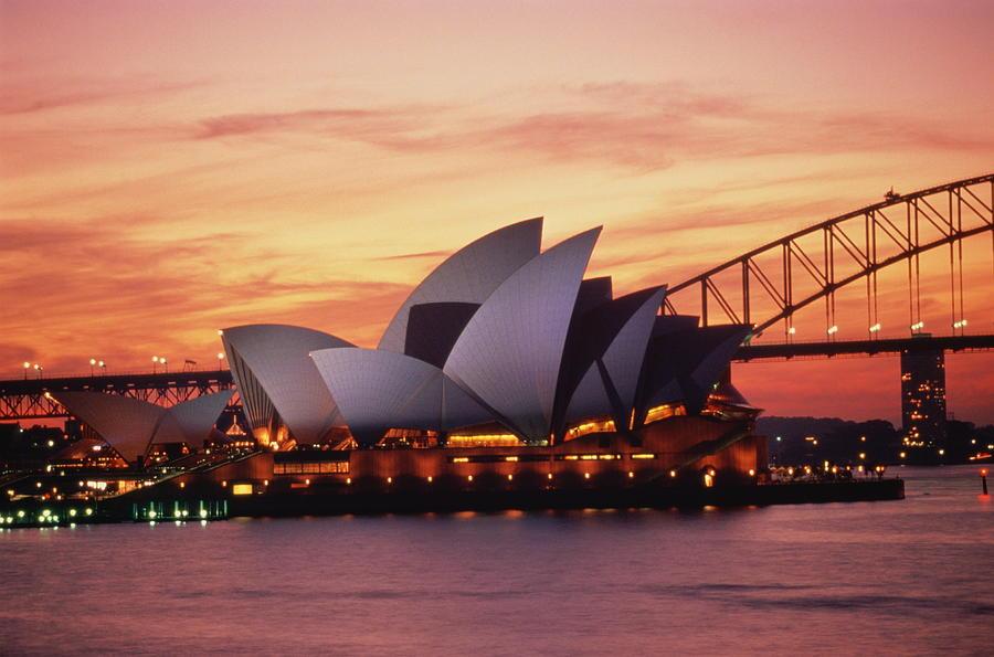 Australia,new South Wales,sydney Photograph by Robin Smith