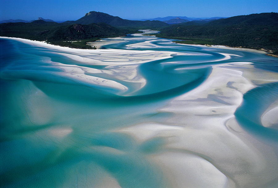 Australia,whitsunday Island, Whitehaven Photograph by Martin Barraud