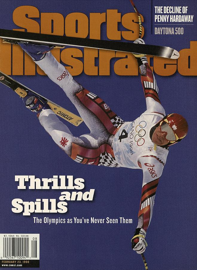 Austria Herman Maier, 1998 Winter Olympics Sports Illustrated Cover Photograph by Sports Illustrated