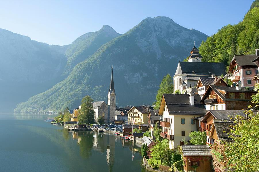 Austria, Salzburger Land, Hallstatt Photograph by Manchan