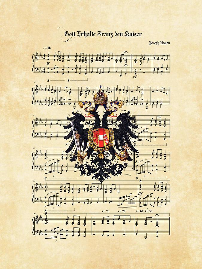 Austrian emperor's hymn  by Helga Novelli