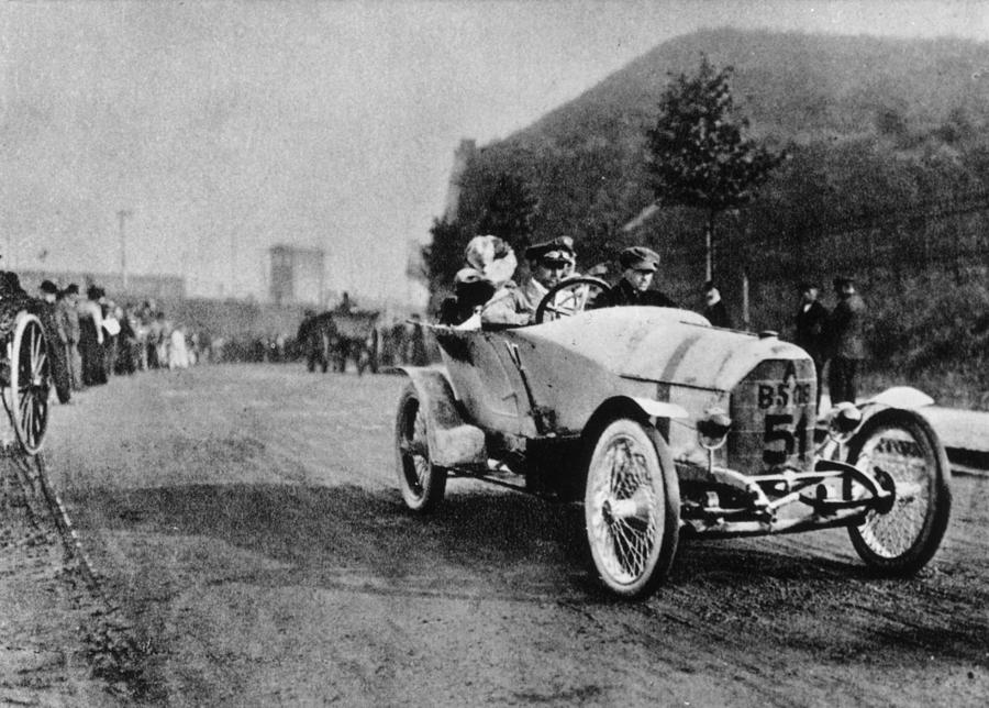 Austro Daimler Photograph by Keystone