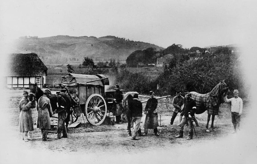 Austro-prussian War Photograph by Henry Guttmann Collection