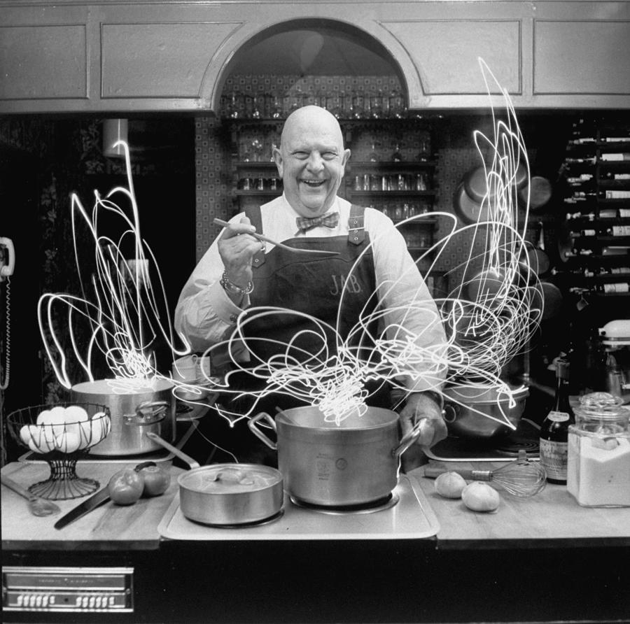 Author And Top Chef James A. Beard In Photograph by Arthur Schatz