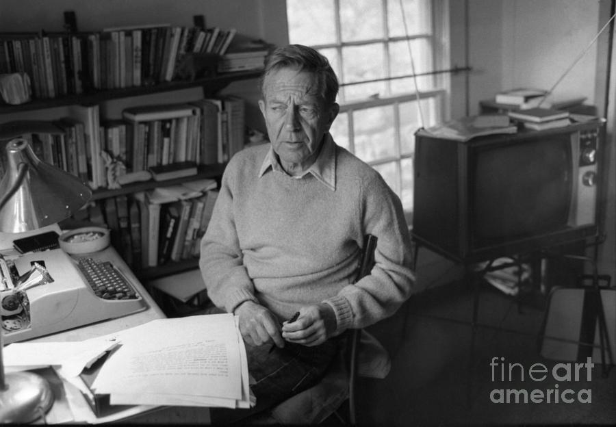 Author John Cheever Photograph by Bettmann