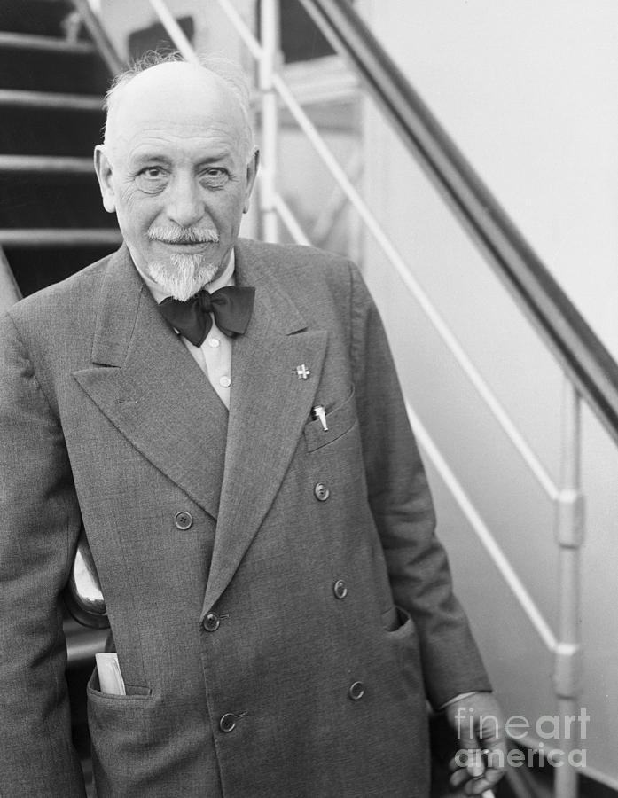 Author Luigi Pirandello Photograph by Bettmann