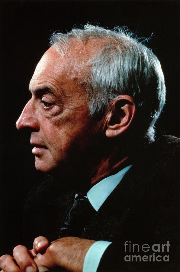 Author Saul Bellow Photograph by Bettmann