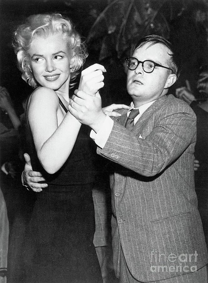 Author Truman Capote Dancing Photograph by Bettmann