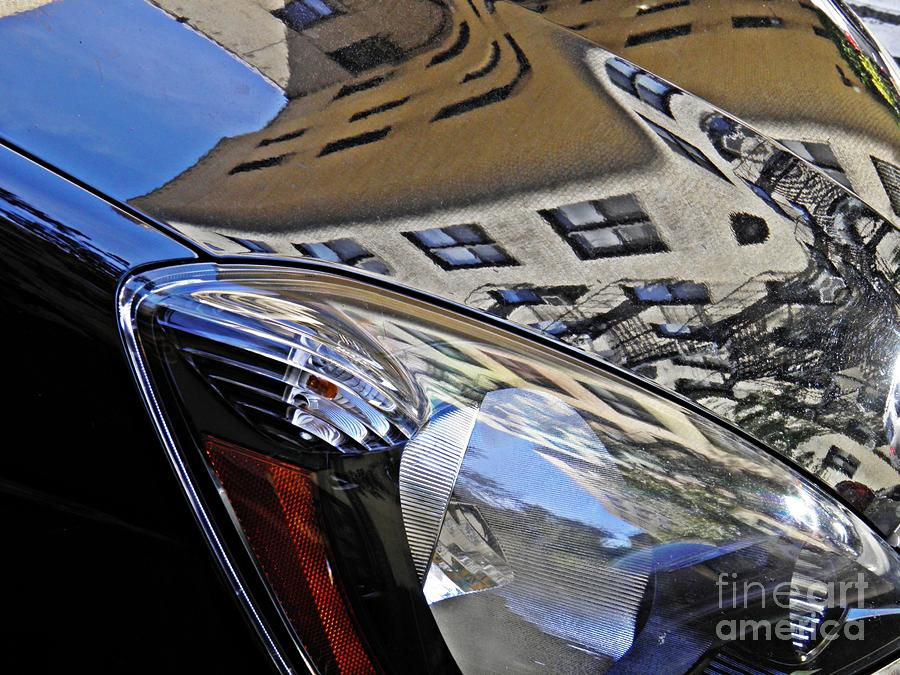 Auto Headlight 178 Photograph