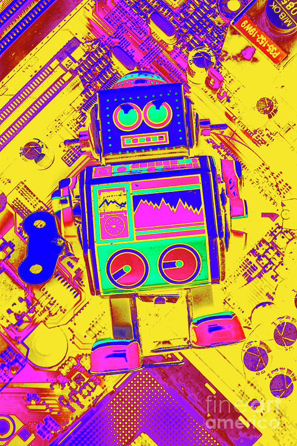 Toy Photograph - Automated Nostalgia by Jorgo Photography - Wall Art Gallery