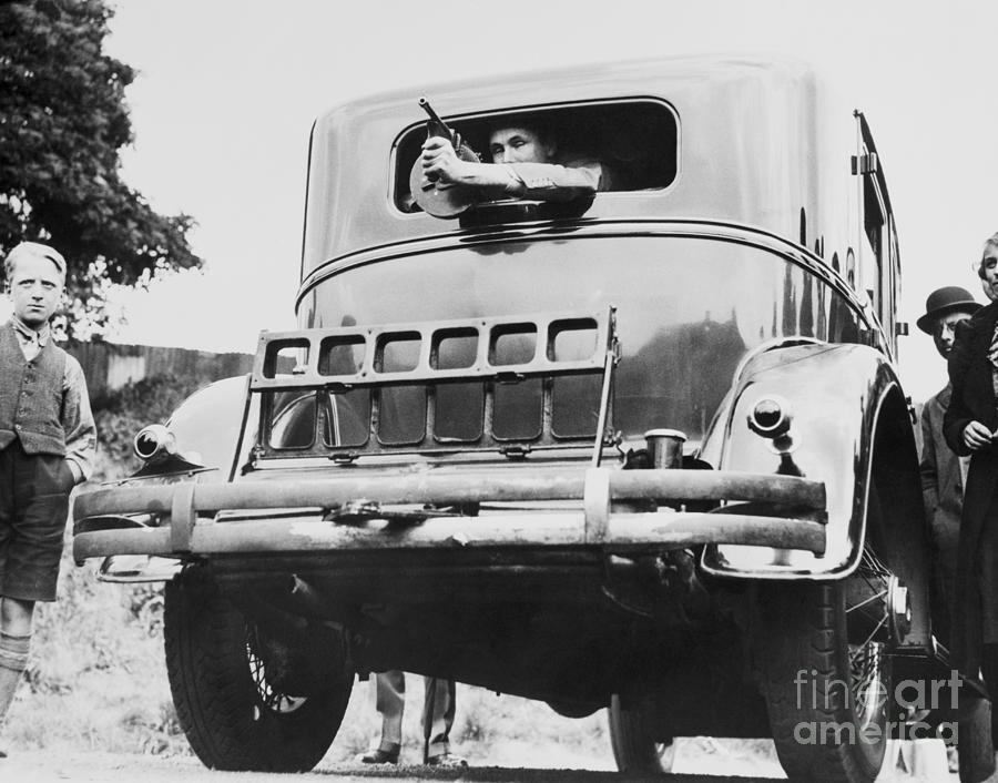 Automobile Constructed For Al Capone Photograph by Bettmann