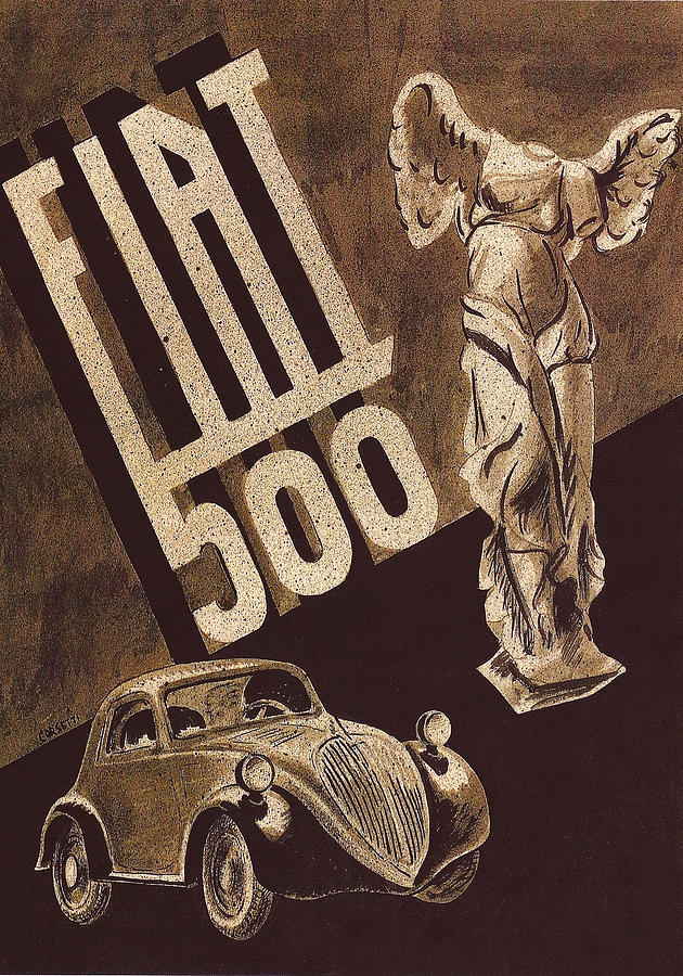 Automotive Art 500 by Andrew Fare