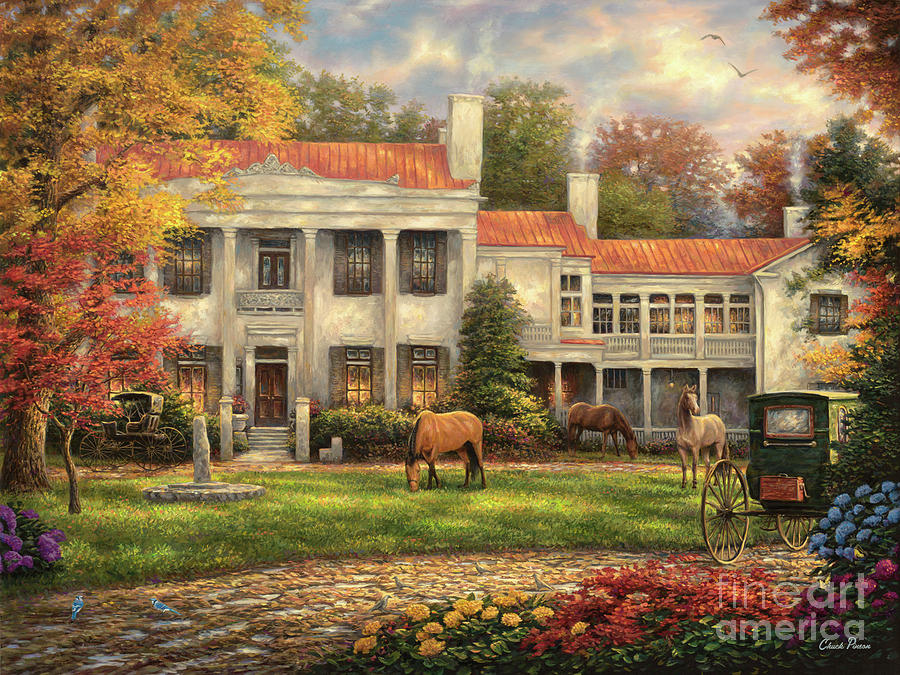 Autumn Afternoon at Belle Meade by Chuck Pinson