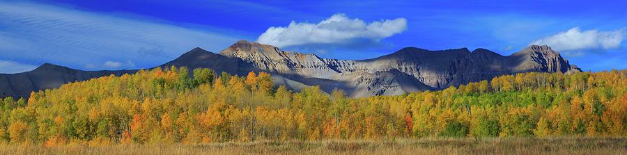 Autumn Afternoon Below The Sneffels Range Photograph