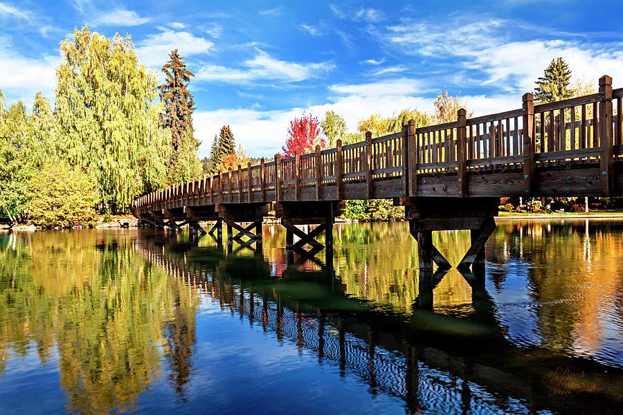 Autumn Wall Decor at Drake Park Bend Oregon by David Millenheft