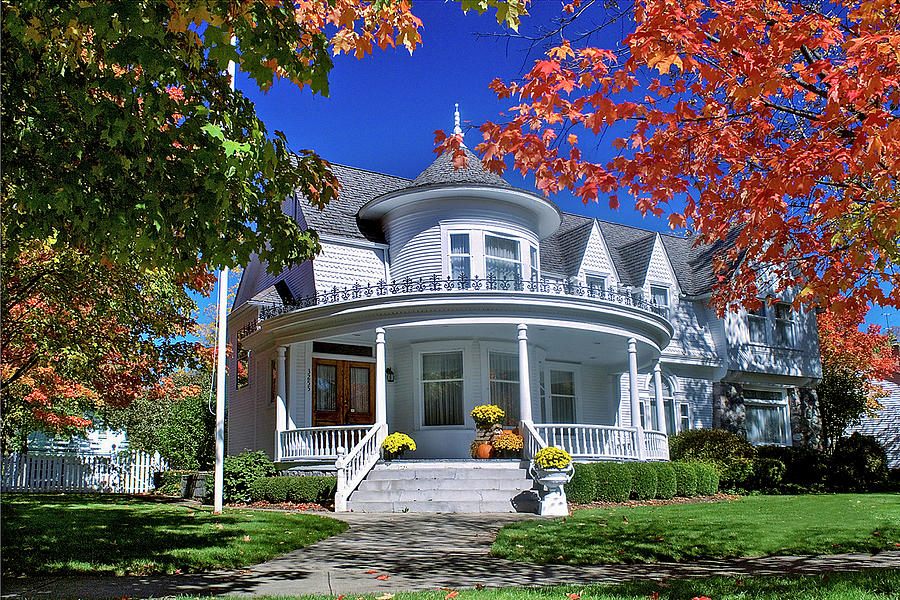 Autumn at Honey House by Jill Love Photo Art