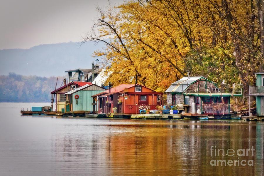 Autumn at Latsch Island by Kari Yearous