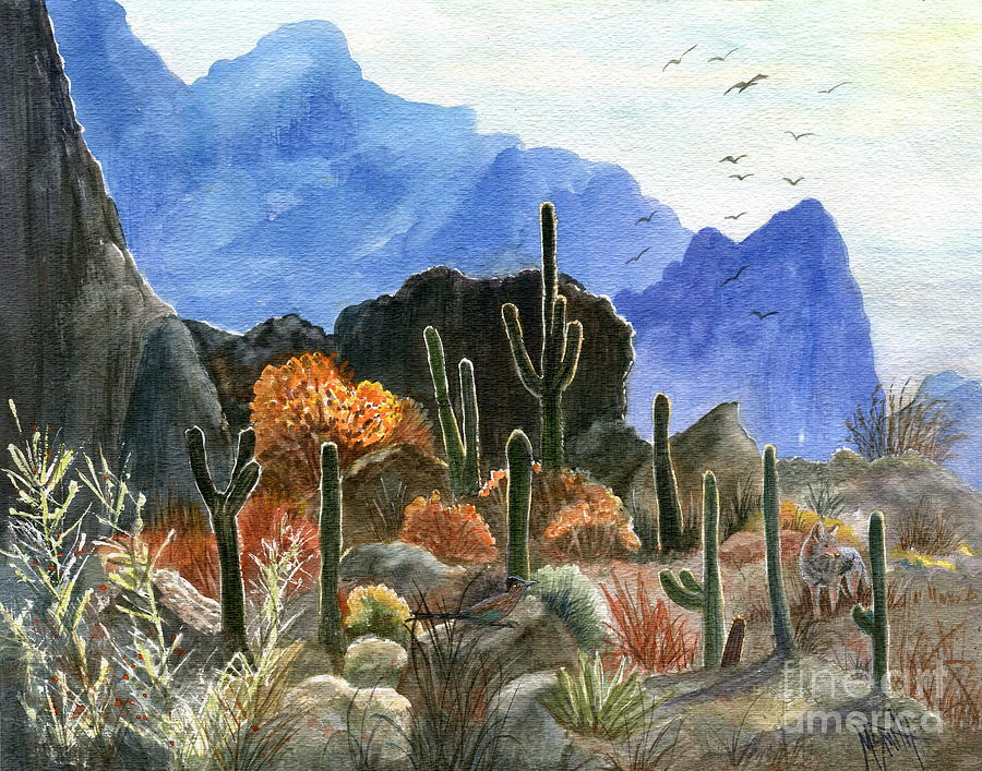 Autumn At Picketpost Mountain by Marilyn Smith