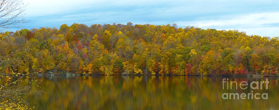Autumn at Prettyboy by Donald C Morgan
