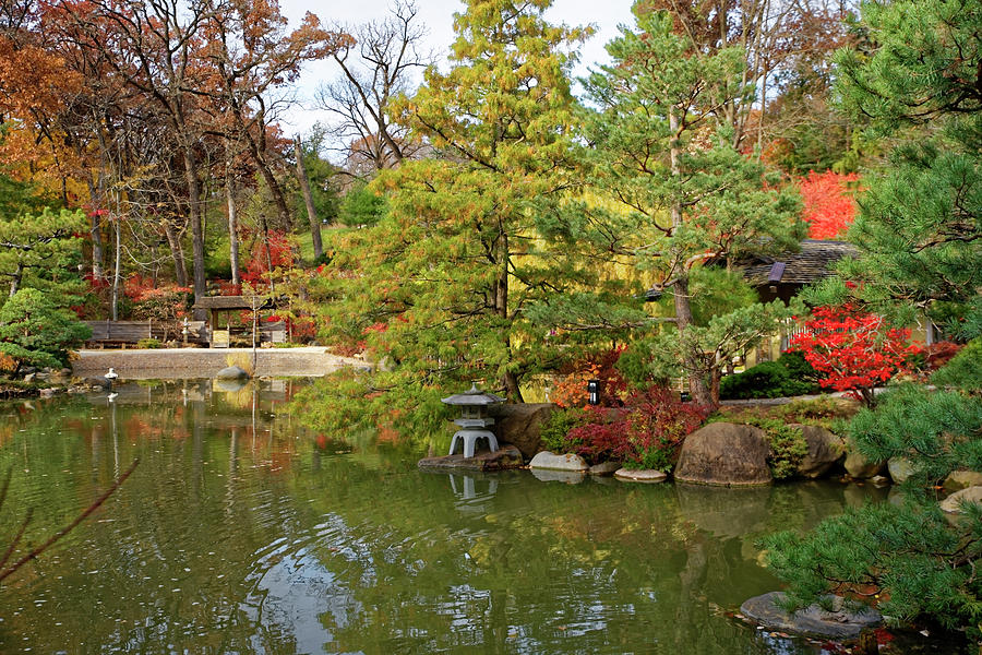 Autumn at the Gardens by Peter Ponzio
