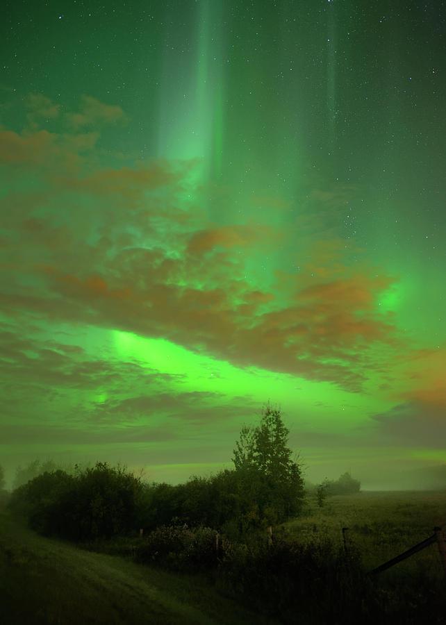 Autumn Aurora by Dan Jurak