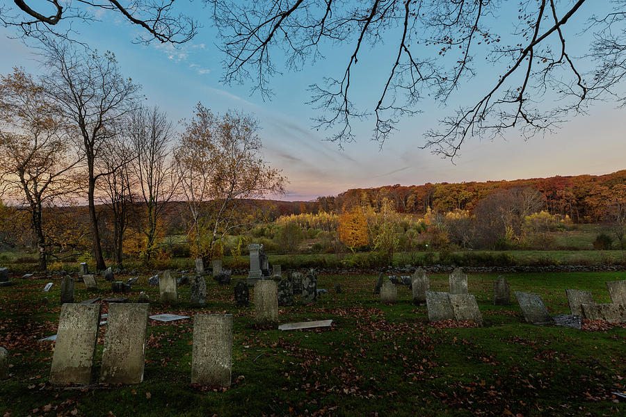 Autumn Cemetary by Bill Wakeley