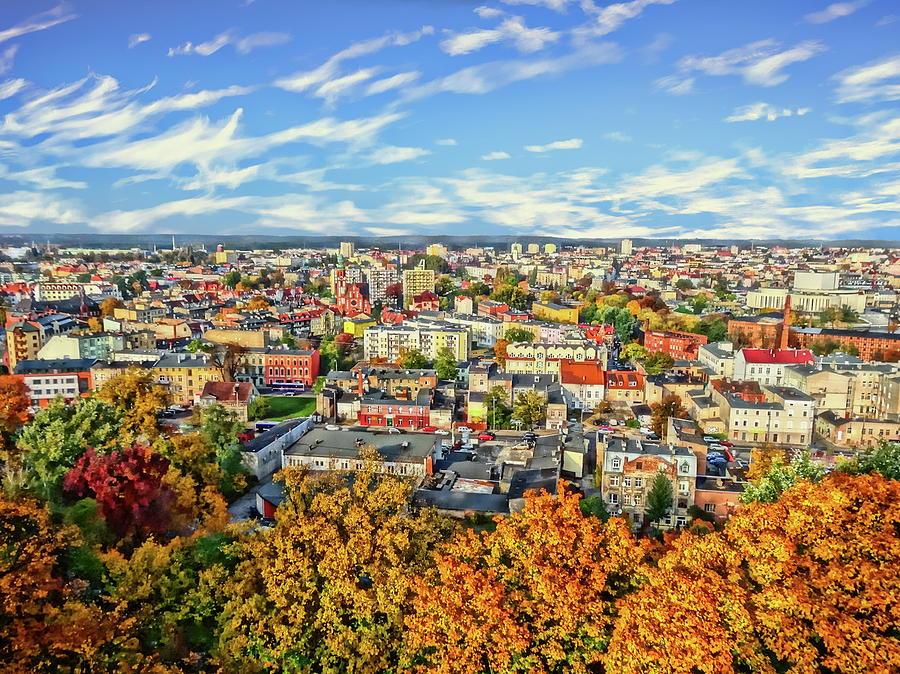 Autumn Cityscape Photograph
