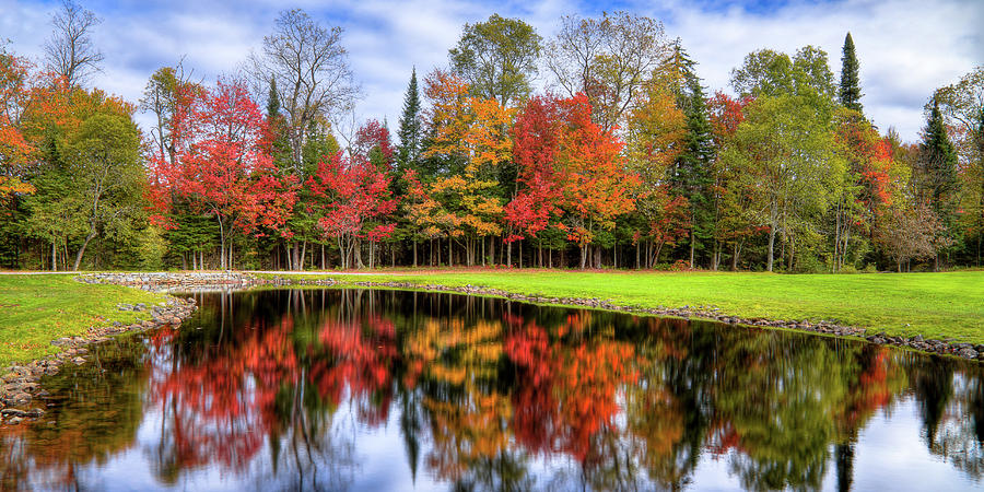 Autumn Color Reflected by David Patterson