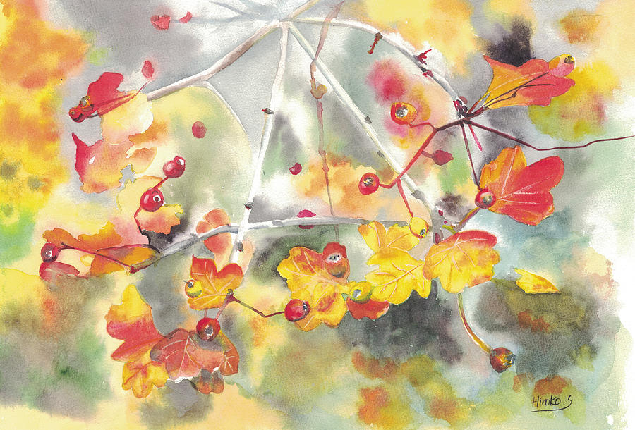 Autumn colors by Hiroko Stumpf
