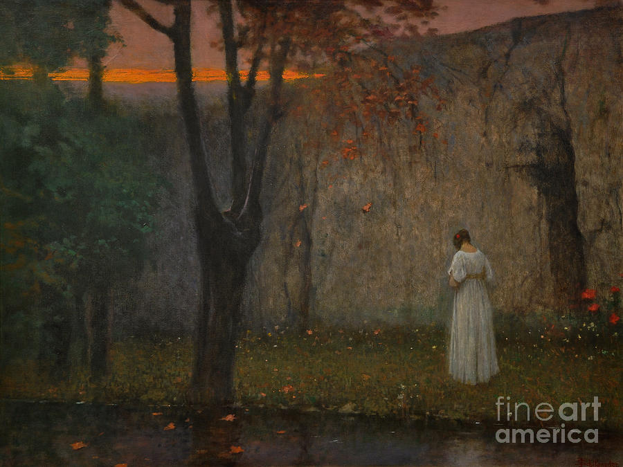 Autumn Dawn, 1910 Drawing by Heritage Images
