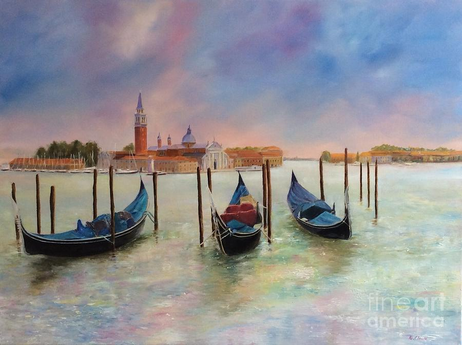 Autumn Evening on Venice by Beatrice Cloake
