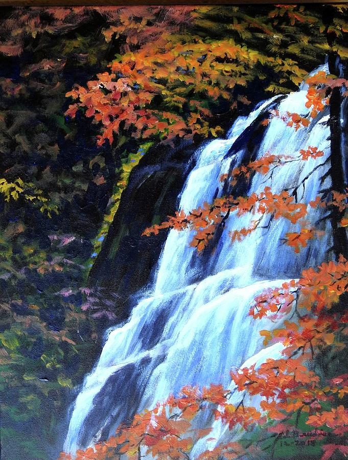 Autumn Falls by Ed Breeding