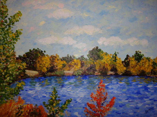 Autumn Flames by Susan Anderson