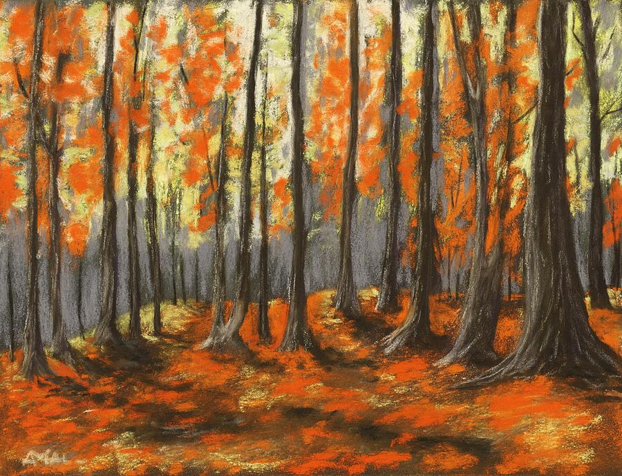 Autumn Forest by Anastasiya Malakhova