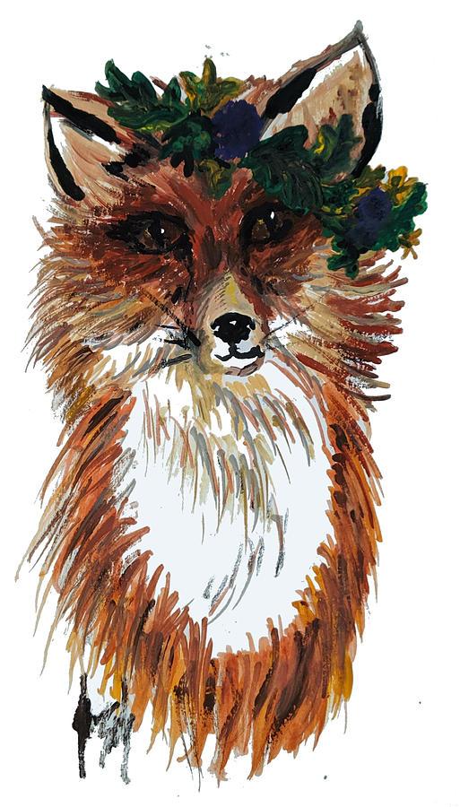Autumn Fox by Jeannine Selig