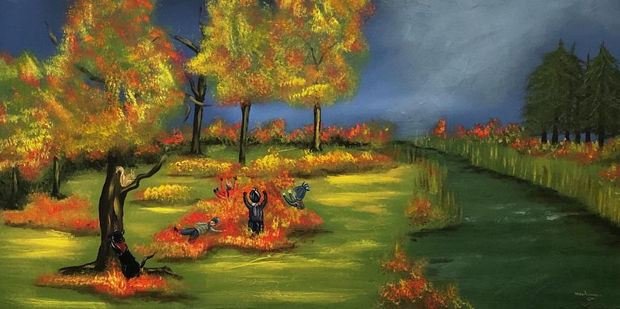 Autumn fun by Mary Rimmell