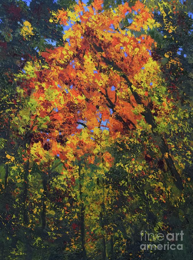 Autumn Glitter by Barrie Stark