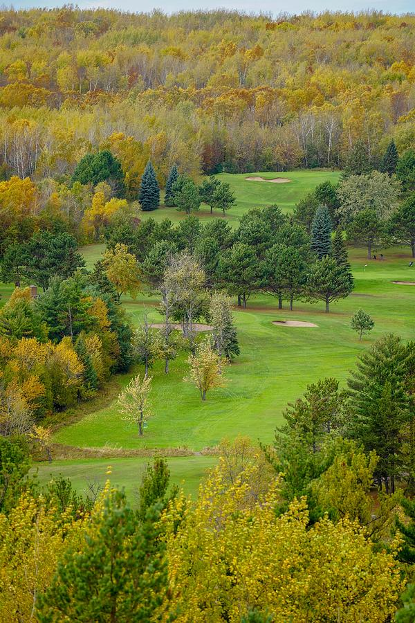 Autumn Golfing by Susan Rydberg