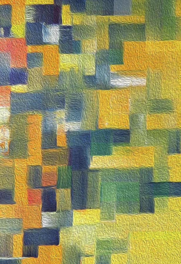 Autumn Harmony The Abstract Way by Johanna Hurmerinta