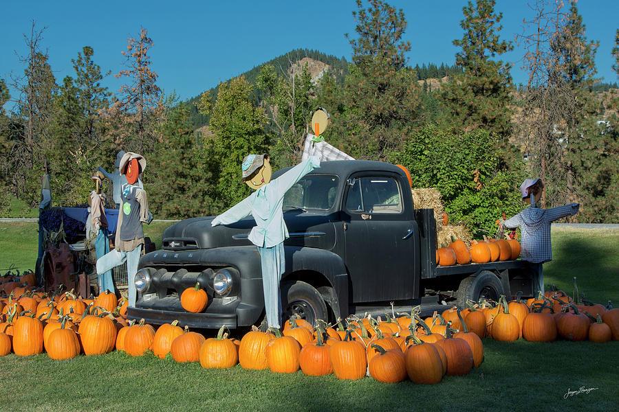 Autumn Harvest Display by Jurgen Lorenzen