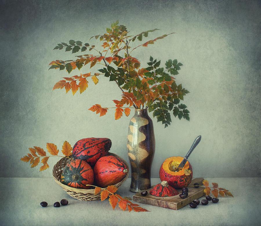 Still Life Photograph - Autumn Heat by Dimitar Lazarov -