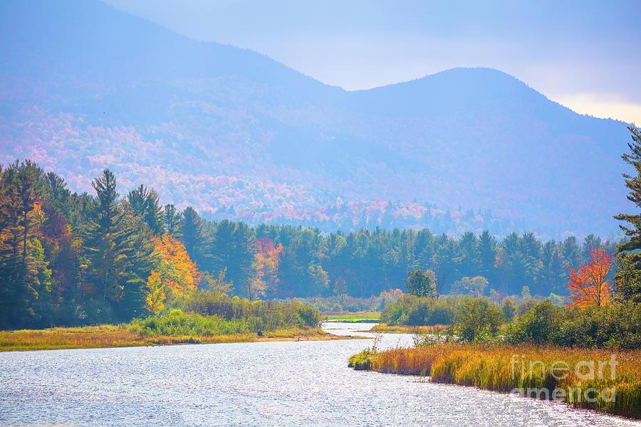 New York Photograph - Autumn In Adirondack, New York 4 by Felix Lai