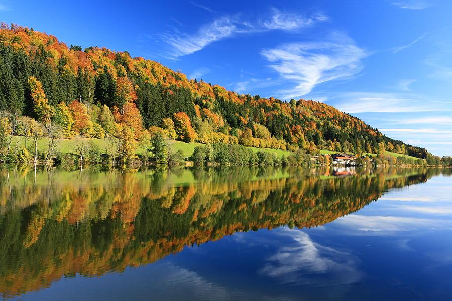 Autumn In Bavaria Photograph by Achim Thomae